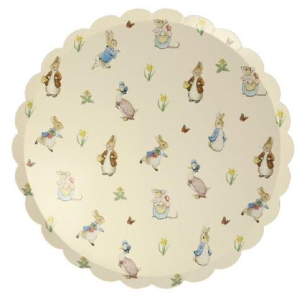 Peter Rabbit & Friends Party Plates - Large